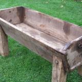 Wooden Feeder Trough